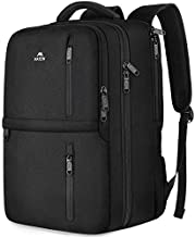 Travel Backpack, 25L Flight Approved Carry on Hand Luggage, MATEIN Water Resistant Anti-Theft Business Large Daypack Weekender Bag for 15.6 Inch Laptop, Black