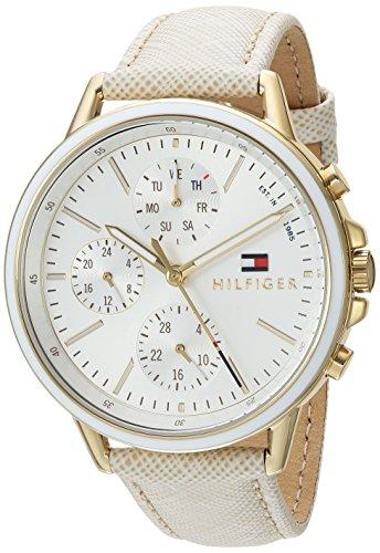 Reloj Tommy Hilfiger para Mujer 40mm, pulsera de Piel