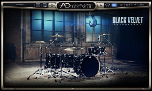 XLN Audio Black Velvet Addictive Drums 2 専用拡張音源