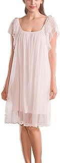 Womens' Honeymoon Nightgown Vintage Victorian Lingerie Pajamas Lace Nightdress Loungewear