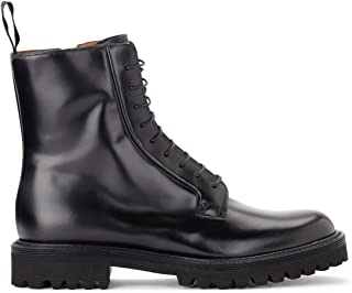 Church's Bottines Alexandra T en Cuir Brossé Noir, Taille UK: