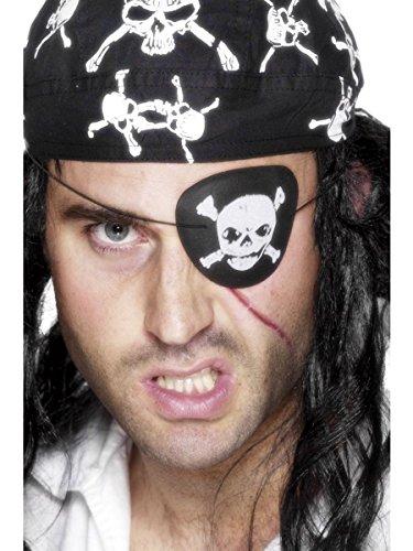 Generique - 350141 - Cache-Œil Pirate Adulte