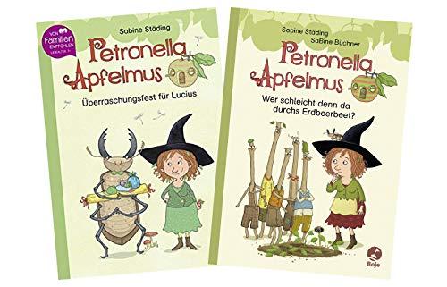 Petronella Apfelmus - Erstleser-Set: Überraschungsfest für Lucius (Band 1) + Wer...