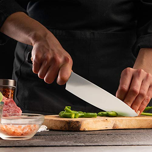 imarku Chef Knife - Pro Kitchen Knife 8 Inch Chefs knife High Carbon German Stainless Steel Sharp paring knife with Ergonomic Handle