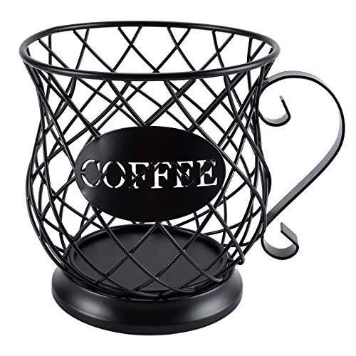 ESYLIFE - Contenitore per capsule di caffè, colore: nero