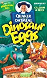 Quaker Instant Oatmeal Brown Sugar With Dinosaur Eggs, 14.1-Ounce Boxes (Pack of 6)
