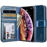 labato Hülle für iPhone XS Max, Handyhülle im Brieftasche-Stil für Apple iPhone XS Max Bookstyle...