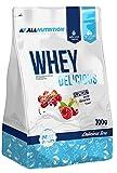 All Nutrition Siero Di Latte Premium Proteine Polvere, Vaniglia Fragola - 700 g