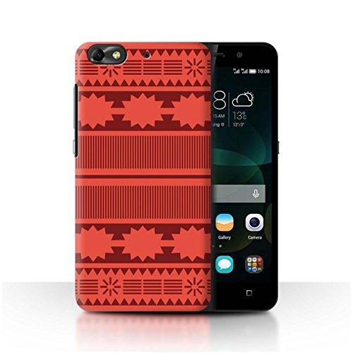 Stuff4 Hülle/Case für Huawei G Play Mini/Aztek/Prinzessin Kleid Muster/Karikatur Polynesische Prinzessin Kollektion