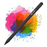 Coolreall Lápiz Stylus para iPad 2018-2021, Compatible con iPad 8th&6th&7th/iPad Air 4&3/Mini 5/iPad Pro 11&12.9, con rechazo de la Palma de la Mano, Recargable Activo, Nido de bolígrafo reemplazable