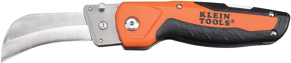 چاقوی چاقو تاشو با اسکرین سیور قابل تعویض Hawkbill Blade و Lockback Mechanism Klein Tools 44218
