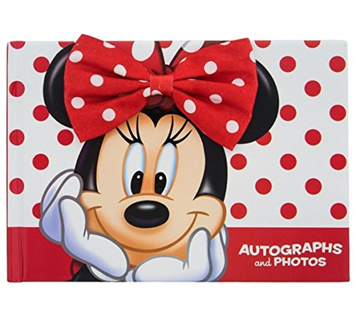 Disney Parks Minnie Mouse Autograph and Photo Book NEW by Disney