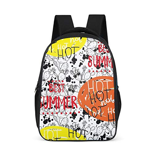 Drawing Teenage's Daypack Classic Causal Travel grey onesize