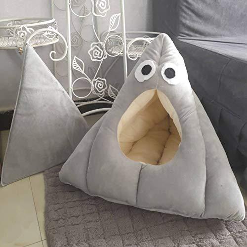 Japanische Instant-Nudeln Doghouse Net Berühmtheit Gleiche Instant-Nudeln Katze Nestauflage Udon Tasse Nudel Nest INS Wind Haustiernest, Katzentoilette Geschlossen S,D