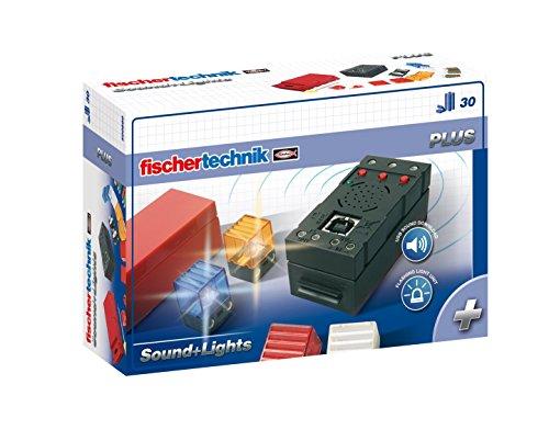 fischertechnik PLUS Sound + Lights, Konstruktionsbaukasten, Ergänzungsset - 500880