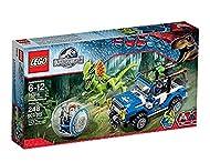 LEGO Jurassic World Dilophosaurus Ambush Playset