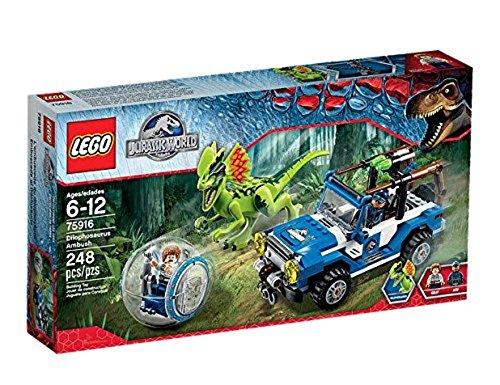 LEGO Jurassic World 75916 - Überfall des Dilophosaurus