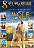 8 Movie Family Adventure Collection (The Legend of Wolf Mountain / Walking Thunder / The Trackers / Kansas Legends of the Ruby Silver / Long Road Home / Time of the Wolf / Pony Express Rider)