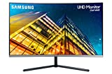 SAMSUNG LU32R590CWNXZA 32-Inch UR590C UHD 4K Curved Gaming Monitor, Dark Blue Gray