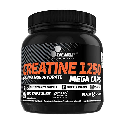 Olimp Creatine 1250 Mega Capsules - Pack of 400 Capsules