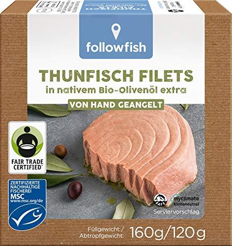 followfish Thunfischfilets in Olivenöl 160 g
