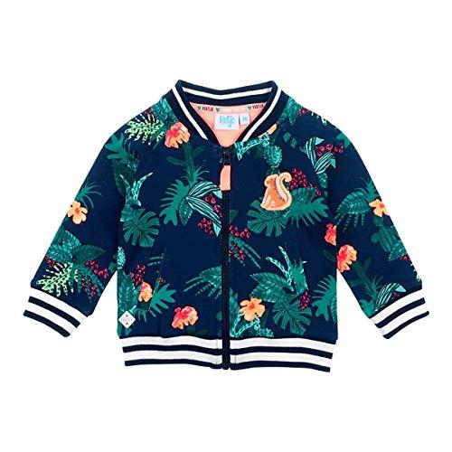 Feetje Veste Sweat Style College américain Jungle Veste bébé vêtements bébé, Marine/Multicolore