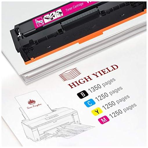 Toner Kingdom 207A Cartuchos de tóner Compatibles para HP 207A HP 207X HP W2210A W2211A W2212A W2213A para HP Color… 3