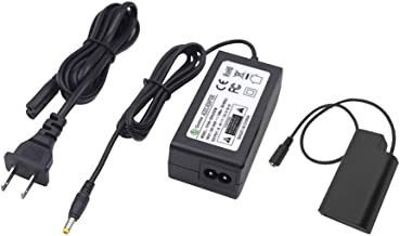 Gonine DMW-DCC16 DMW-AC8 AC Power Adapter DC Coupler Charger Kit Compatible with Panasonic BLJ31 Battery and LUMIX S1 S1R S1H Lumix S Series Cameras.