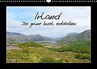 Irland - die gruene Insel entdecken (Wandkalender 2022 DIN A3 quer): Die schoensten Seiten Irland, festgehalten auf 12 eindrucksvollen Fotos (Monatskalender, 14 Seiten )