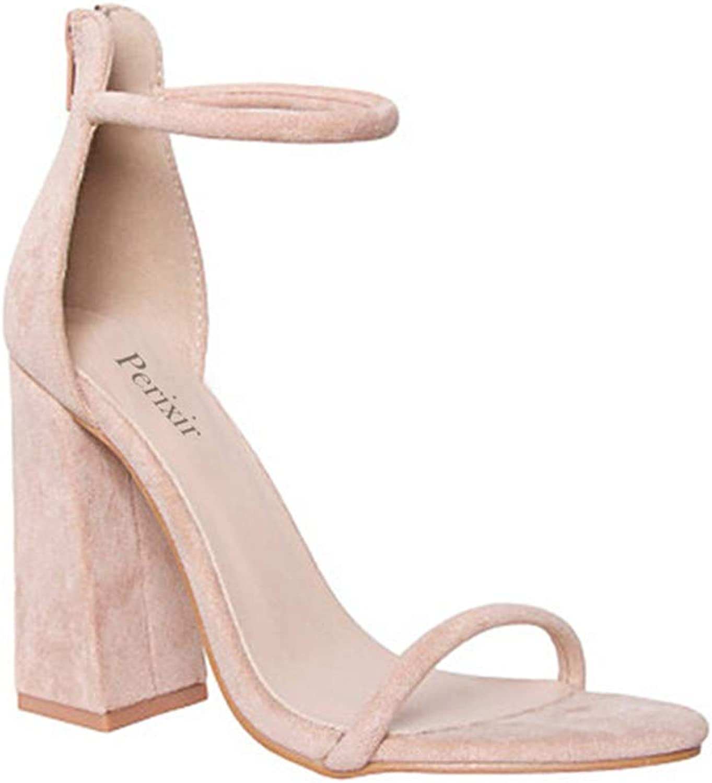 Dagaote Summer Pumps Fashion Heels Sandals for Women Wedding Party 10cm High Heel