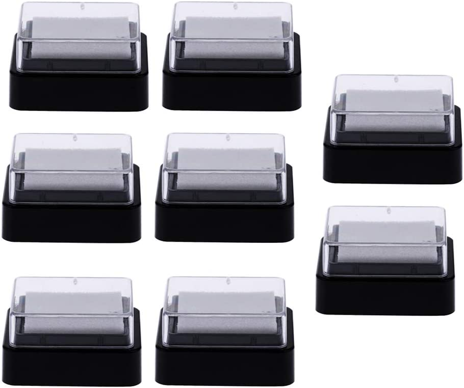 LoveinDIY Lot 80pcs Blank No Color for Pad Finally resale start Ink At the price Empty Stamp I