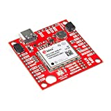 SparkFun GPS-RTK2 Board - ZED-F9P (Qwiic) High-Precision Breakout No Soldering Required Breadboardable Contains a Rechargeable Backup Battery Allowing a Warm-Start decreasing time-to-First-fix