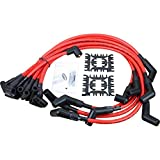 AIP Electronics Dragon Fire Race Series High Performance Ignition Spark Plug Wire Set Compatible Replacement for 1964-1995 Ford 10mm 5.0L 5.8L SBF 302 302W OEM Fit PWJ115