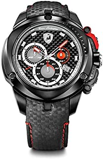 ساعة تونينو لامبورجيني شيلد سيريز للرجال - ساعة انالوج مع سوار من الجلد - 7804