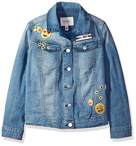 Jessica Simpson Big Mini Peri Jeans Jacke Mädchen Zzpk-Bexley - Blau - Groß