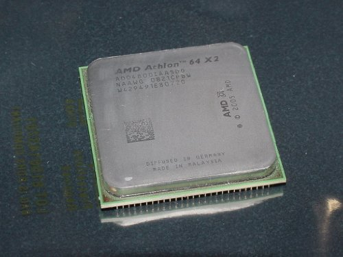 AMD Athlon 64 X2 4800 Brisbane 2.5GHz 2 x 512KB L2 Cache, Socket AM2, AM2 +, 65 W Dual-Core Processor