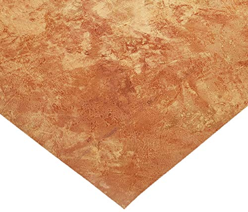 Desert Sand and Red Faux Wallpaper