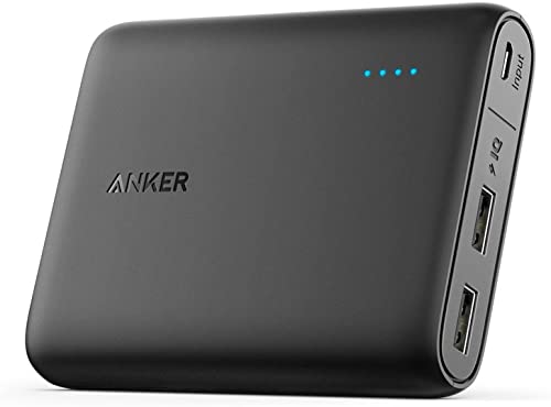 Anker PowerCore 13000 Portable Charger - Compact 13000mAh 2-Port Ultra Portable Phone Charger Power Bank with PowerIQ...