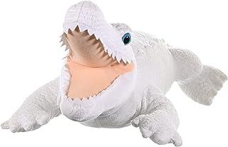 Wild Republic White Alligator Plush Soft Toy, Cuddlekins Cuddly Toys, Gifts for Kids 40cm