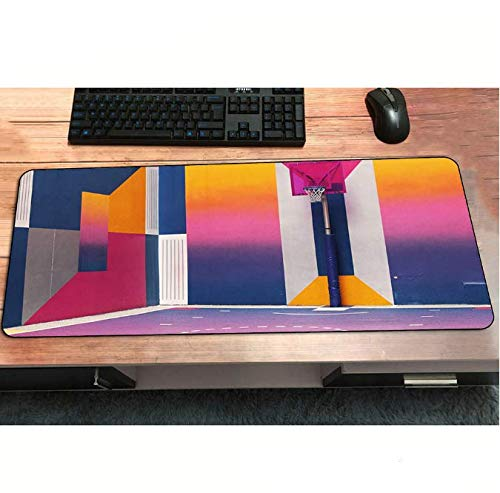 Basketbal Mouse Pad Cool Nieuwe Pad Naar Muis Computer Mousepad Aangepaste Beste Gaming Padmouse Gamer Om Laptop Muis Matten 30 * 80Cm