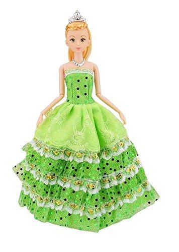 Poupées dans le collecteur de la princesse robe Party Outfit enfants