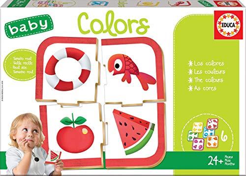 Educa- Baby Colors Juego Educativo para bebés para Aprender