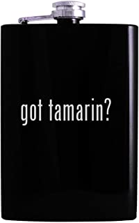 got tamarin? - 8oz Hip Alcohol Drinking Flask, Black