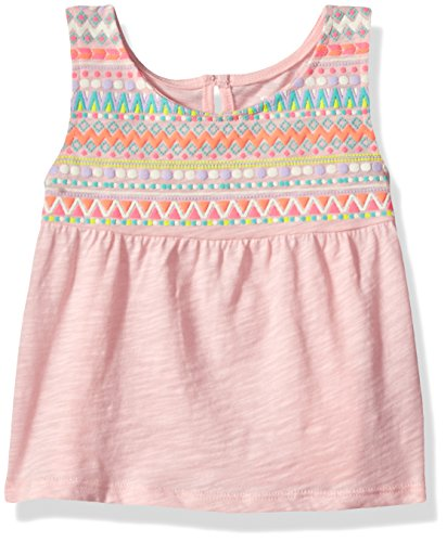 The Children's Place Baby Girls' Tank Top, Pink Rose 80044, 4T