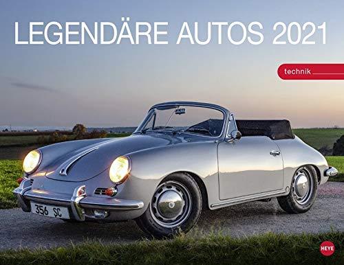 Legendäre Autos Kalender 2021