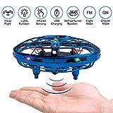 BELLA BEAR Mini Drone UFO Juguetes voladores con Luces LED Dos Modos...