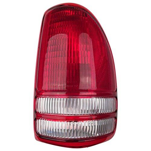 Automotive Tail Light Assembly Mouldings