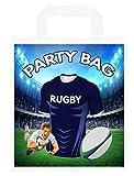 Bolsas para fiestas temáticas de rugby, para botín, eventos, colores Castres (paquete de 6)