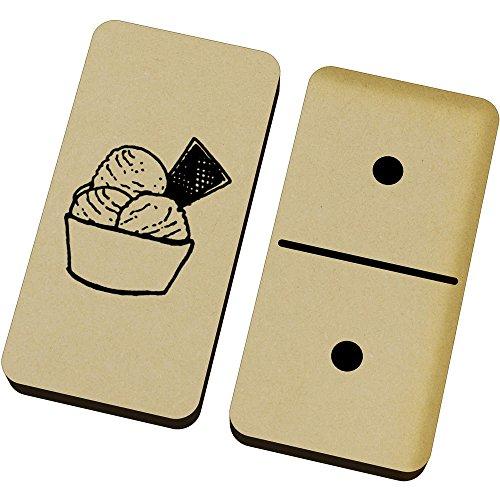 Azeeda 'EIS' Domino-Spiel und Box (DM00016309)