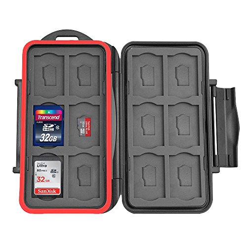 XPIX 24X Storage Water Resistant Protective Memory Card Case